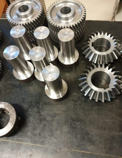 STRAIGHT, HELICAL, BEVEL GEARS AND SHAFTS