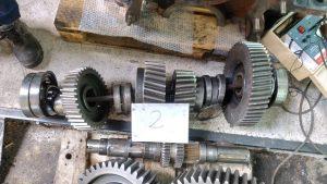 HYDROMECHANICAL GEAR UNIT REPAIR Dimensions: 1200x1300x650 mm